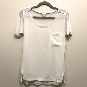 ✨2 for $30✨ Club Monaco Silk T-shirt